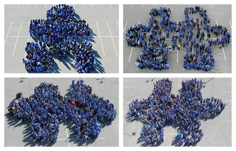 Autism Awareness Human Puzzle Piece Windsor Poster