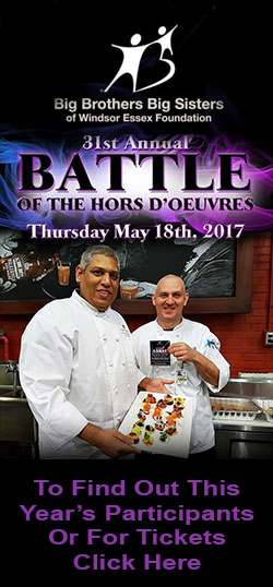 Battle of The Hors D'oeuvres 2017 Sidebar
