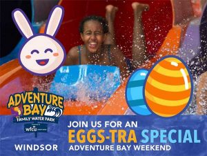 Easter Weekend at Adventure Bay Family Water Park Poster