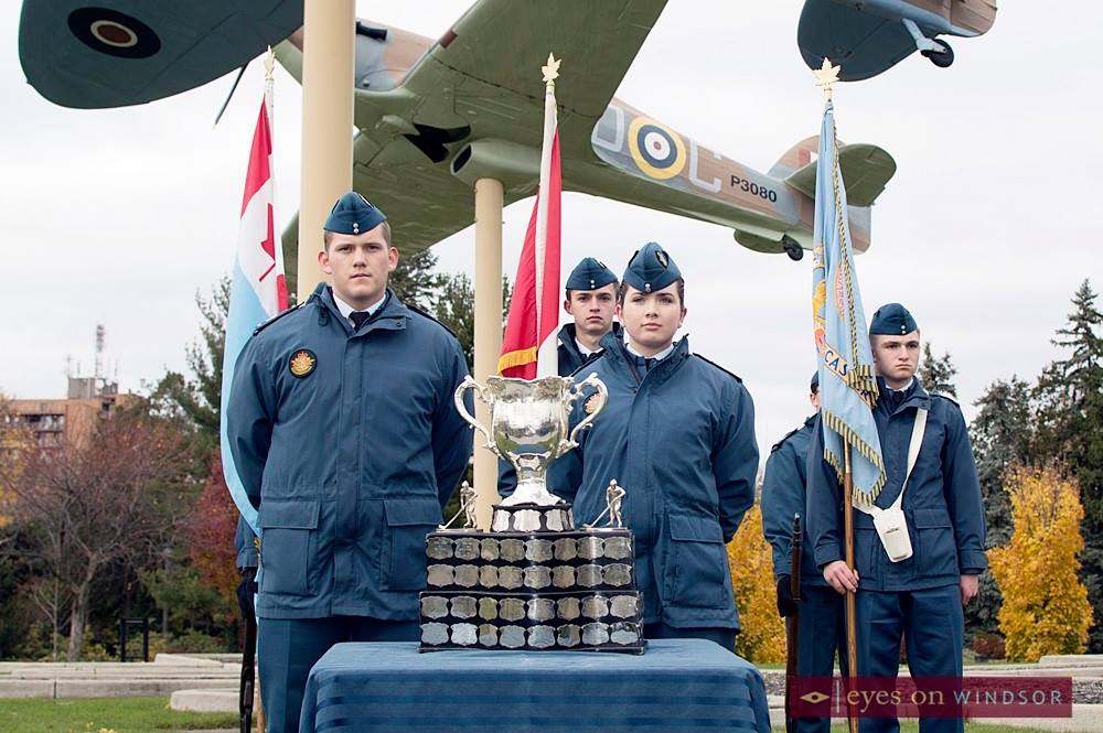 Memorial Cup Hockey Trophy on Display at Jackson Park