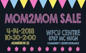 Mom2Mom Sale Windsor Poster