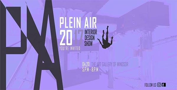 St. Clair College Annual Interior Design Grad Show Poster