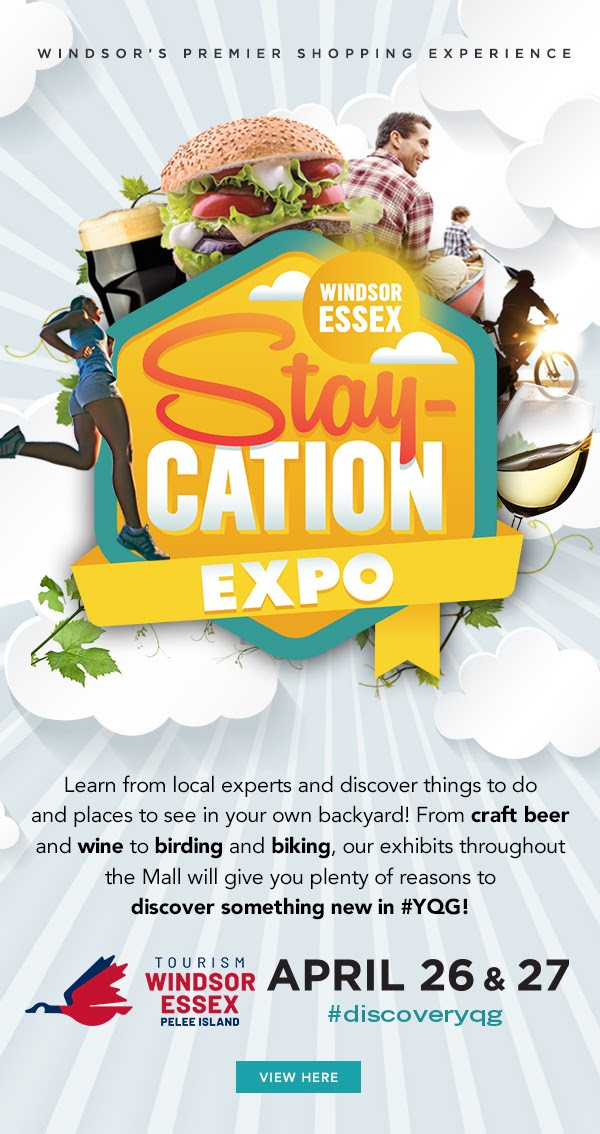 Windsor Essex Staycation Expo Poster