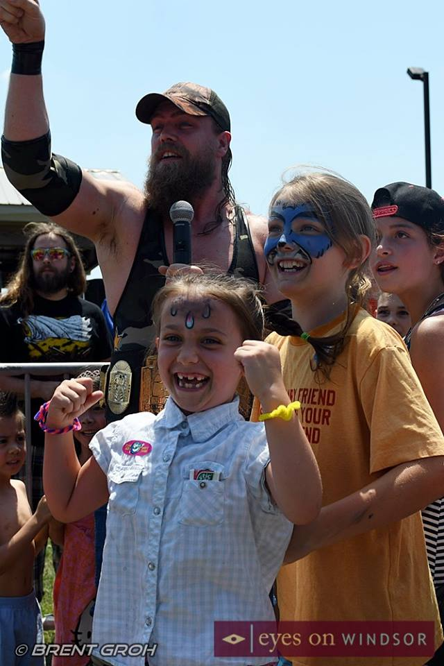 BCW Cody Deaner at Fantastic Fathers Day Weekend