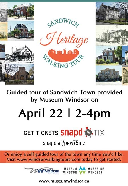 Sandwich Heritage Walking Tour Poster