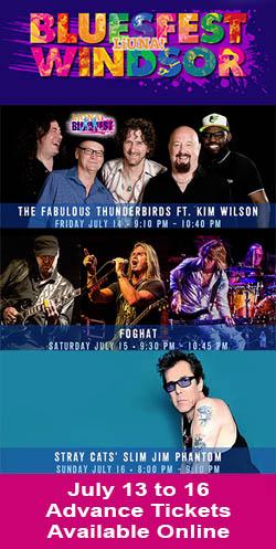 Bluesfest Windsor 2017 Advance Tickets Available Online