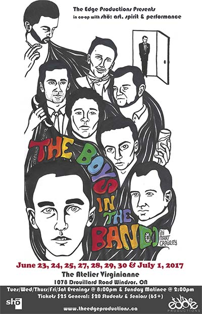 The Edge Productions present The Boys In The Band by Mart Crowley Poster
