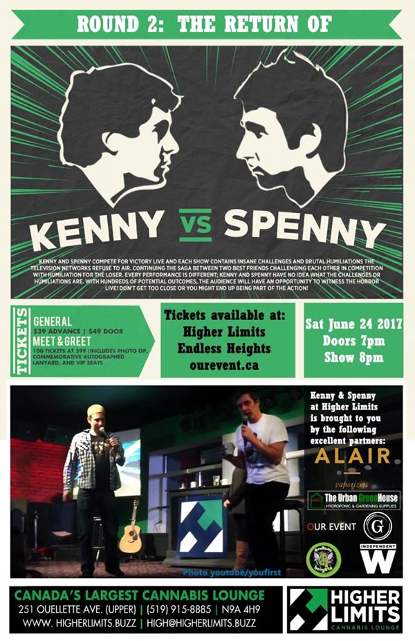 Kenny vs Spenny Round 2 Windsor Poster