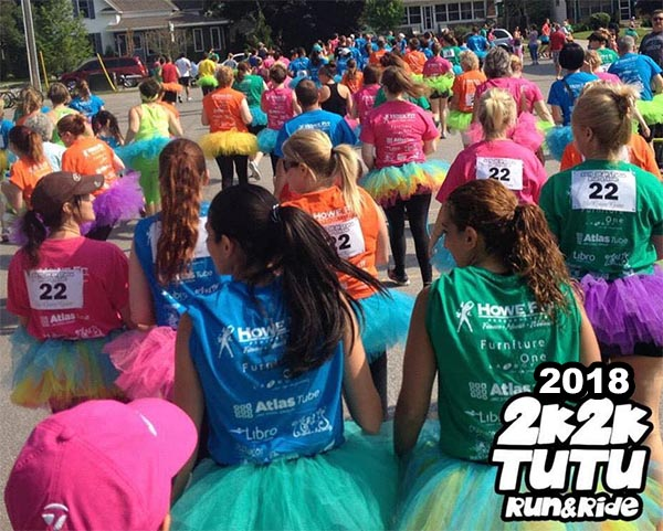 2K2K Tutu Run and Ride Poster