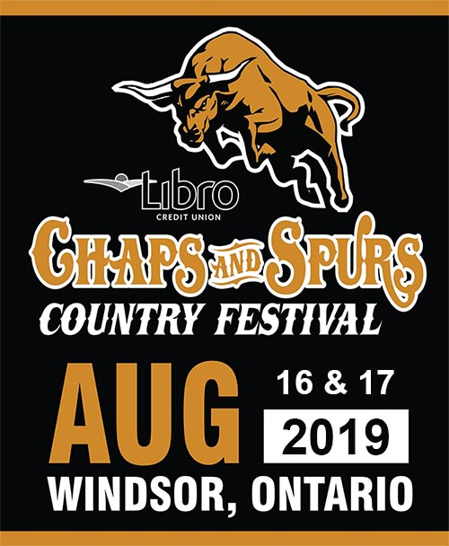 Chaps And Spurs Country Fest Poster