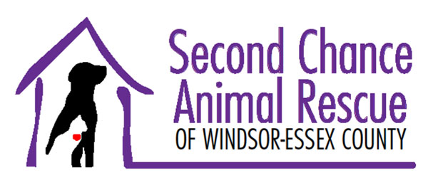Second Chance Animal Rescue Windsor Essex Logo
