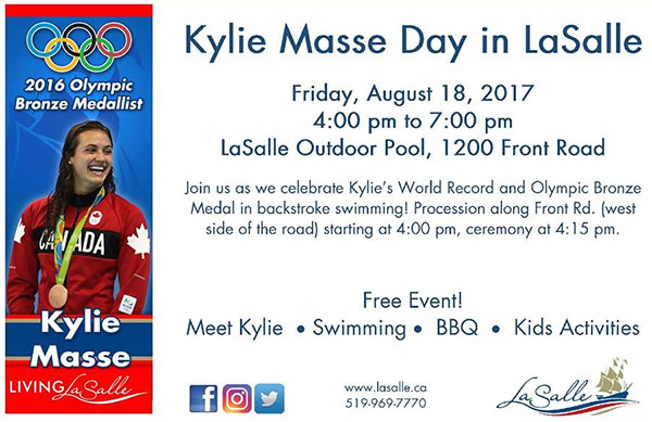 Kylie Masse Day in Lasalle Poster