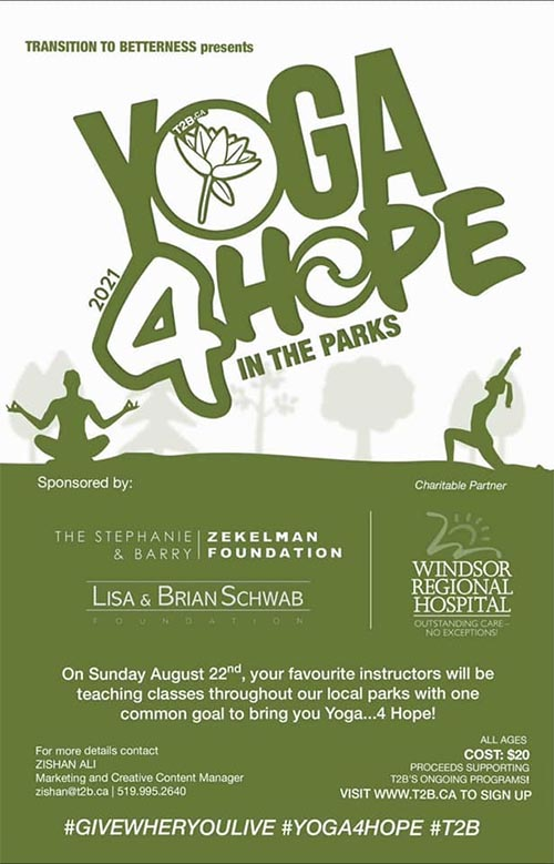 Yoga 4 Hope Poster