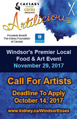 Artilicious Windsor Call To Artists Sidebar Ad
