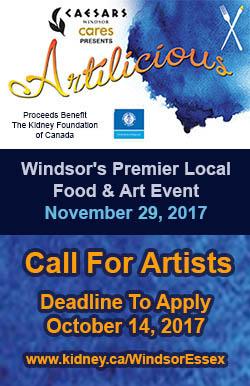 Artilicious Windsor Call To Artists Sidebar Ad