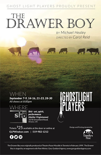 The Drawer Boy by Ghost Light Players Poster