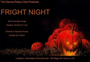 Harrow Rotary Fright Night Haunted House