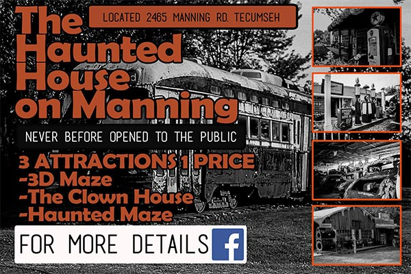 Haunted House on Manning Rd. in Tecumseh, Ontario