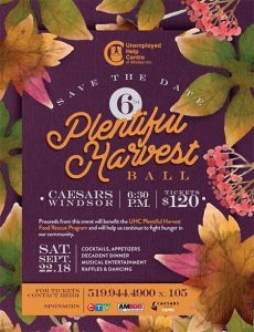 Plentiful Harvest Ball Poster