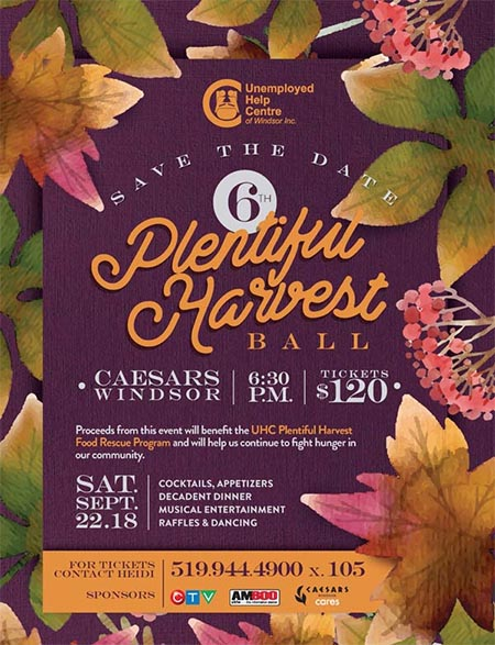 Plentiful Harvest Ball Poster