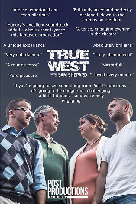 True West by Windsor's Post Productions (Poster)