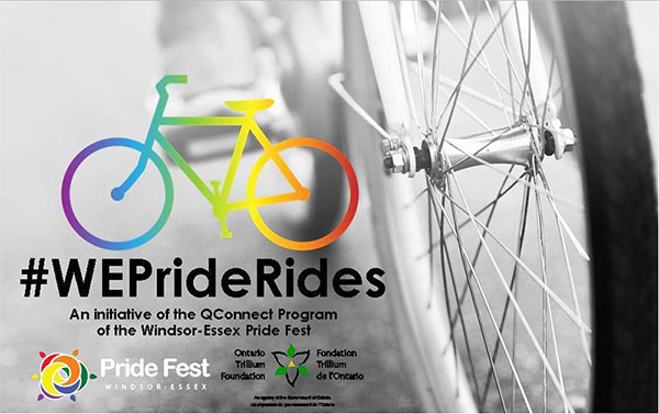 #WEPrideRides Community Bike Ride
