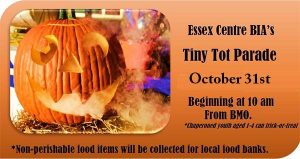 Essex BIA Tiny Tots Trick or Treat Parade