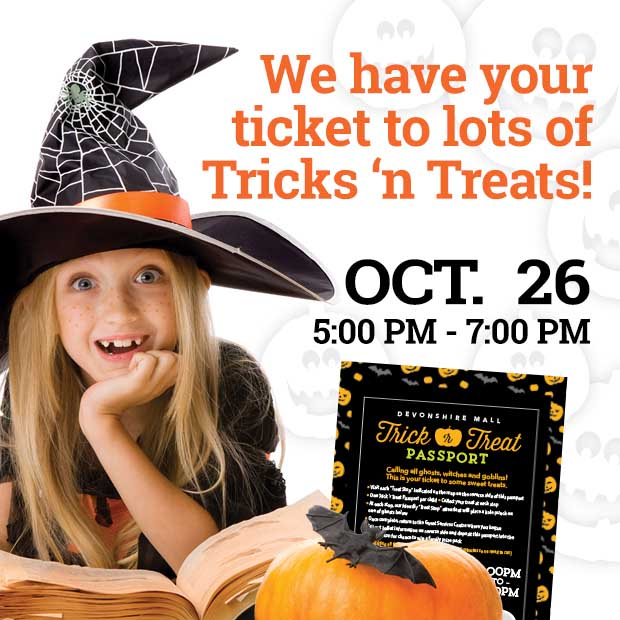 Halloween Trick or Treating at Devonshire Mall Poster