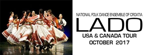 LADO National Folk Dance Ensemble of Croatia Tour Stops in Windsor