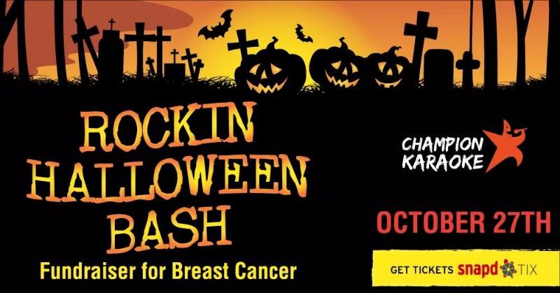 Champion's Rockin Halloween Bash Poster
