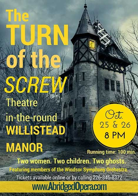 Turn of The Screw presented by Windsor Abridged Opera