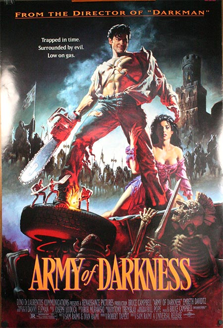 WIFF Halloween Screening Poster Featuring Army of Darkness