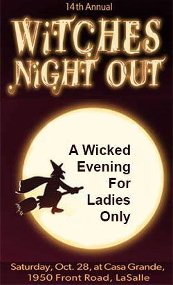Witches Night Out Halloween Event