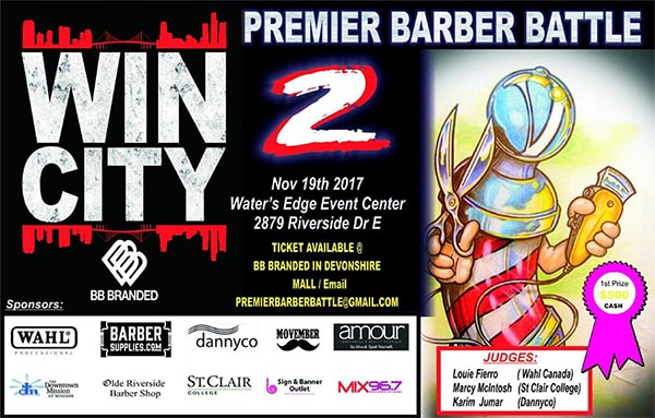 Premiere Barber Battle Poster
