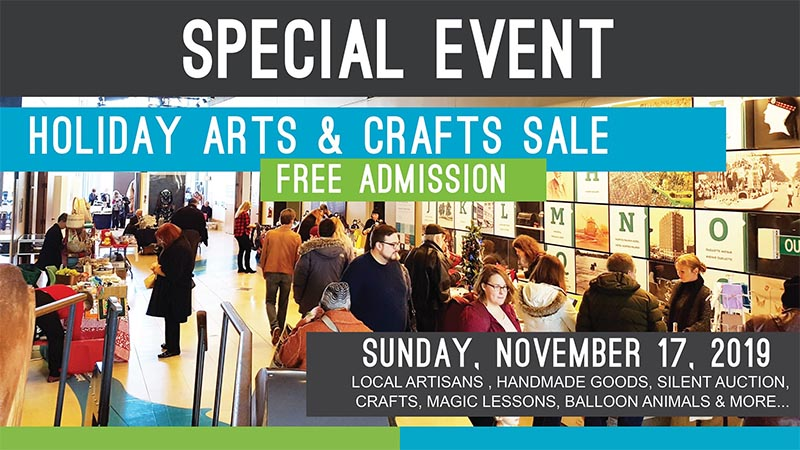 Museum Windsor Holiday Arts & Craft Sale at Chimczuk Museum Poster