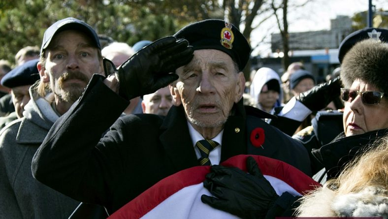 In Photos: Remembrance Day Ceremony at The City of Windsor Cenotaph