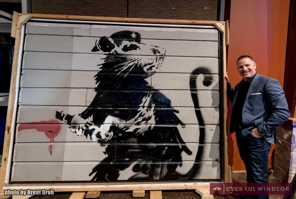 Banksy Haight Street Rat Owner