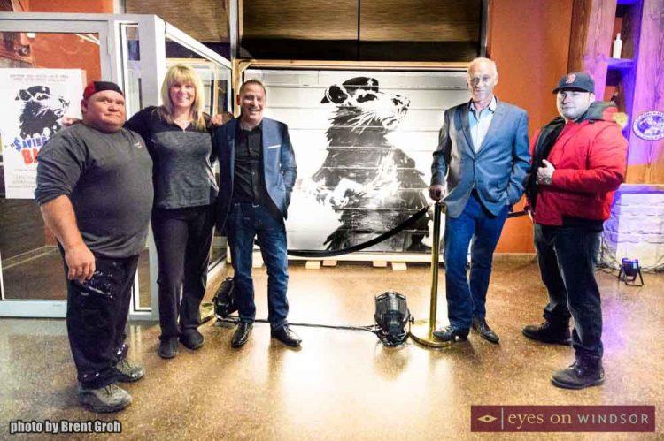 In Photos: Sneak Peek of The Infamous Saving Banksy Exhibit at Wolfhead Distillery