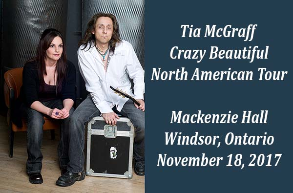 Tia McGraff Crazy Beautiful North American Tour Windsor, Ontario.