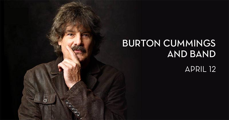 Burton Cummings Will Perform Live at Caesars Windsor