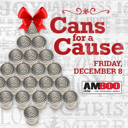 AM800 Cans For A Cause