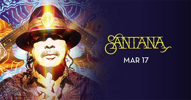 Guitar Legend Carlos Santana Performs Live at Caesars Windsor