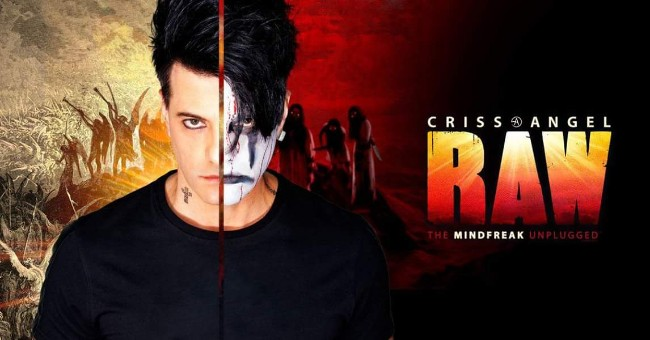 Criss Angel's Raw: The Mindfreak Unplugged at Caesars Windsor
