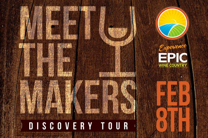 EPIC Wineries Meet The Makers Discovery Weekend Logo