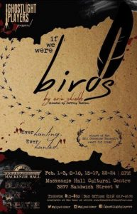 Ghost Light Players If We Were Birds Poster