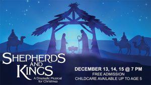 Parkwood Gospel Church Christmas Play Poster (Shepherds and Kings)