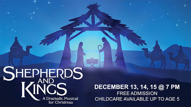 Parkwood Gospel Church Christmas Play Poster (Shepherds and Kings)