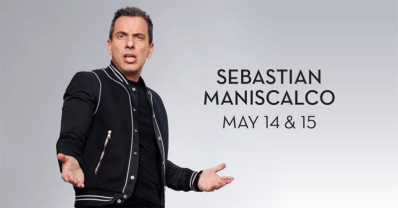 Comedian Sebastian Maniscalco Performs Live at Caesars Windsor