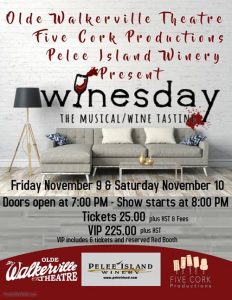 Winesday The Musical by Five Cork Productions Poster