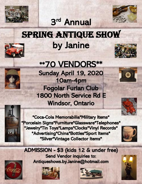 Spring Antique Show by Janine Poster